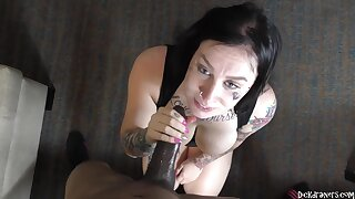Tori Rose - Police Oral Interrogation Leads Respecting Obese Bust!