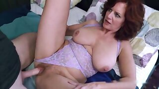 Caught masturbating stepmom and fuck say no to