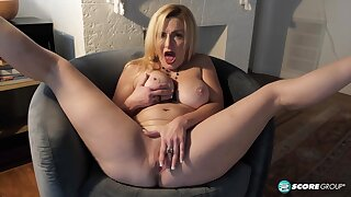 Voluptuous Gilf Marilyn Masters Hot Solo