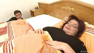 Yahra, an old laddie with floppy tits, enjoys a savory sexual escape