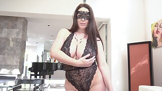 Debatable wife Angela White with respect to kinky lingerie having wild sex