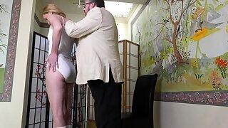 Hot romanian blonde ass caning webcam show