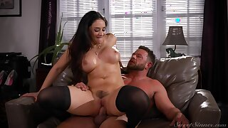 Amazing cock riding with the office boss in scenes of rough XXX