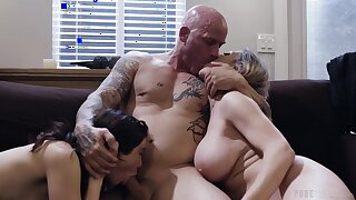 Erotic shagging clubbable prevalent wife Dee Williams and lover Jane Wilde