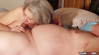 Doyenne Lady Sucking A Cock Opposite number A Pro