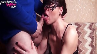 Vampish wife Hard Make Love and Bottomless gulf Sucks Knob