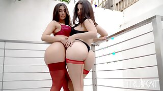 Passionate Girl on Girl sex with Laserina69